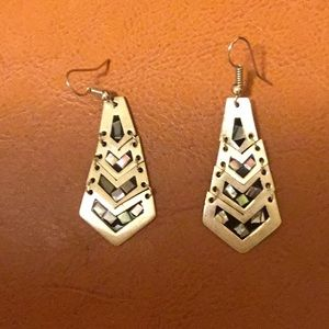Earrings from Mexico.